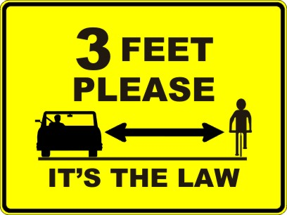 3-feet Bicycle Law