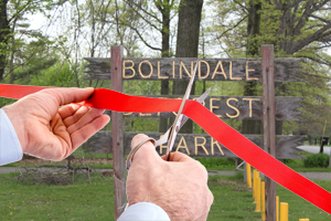 Bolindale Ribbon Cutting